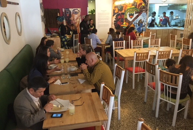 Crowdters en Bogotá