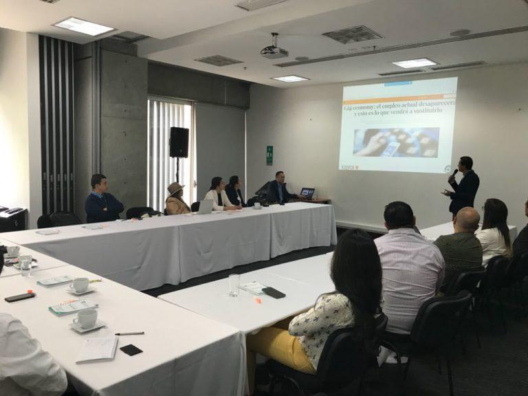 Paruma invitado en reunión de Grupos Colaborativos – Logyca