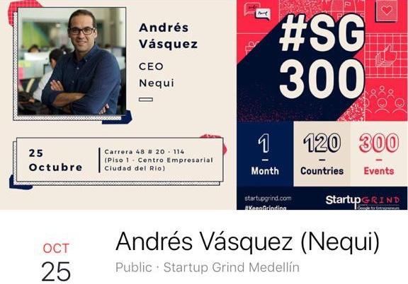 Startup Grind – Nequi