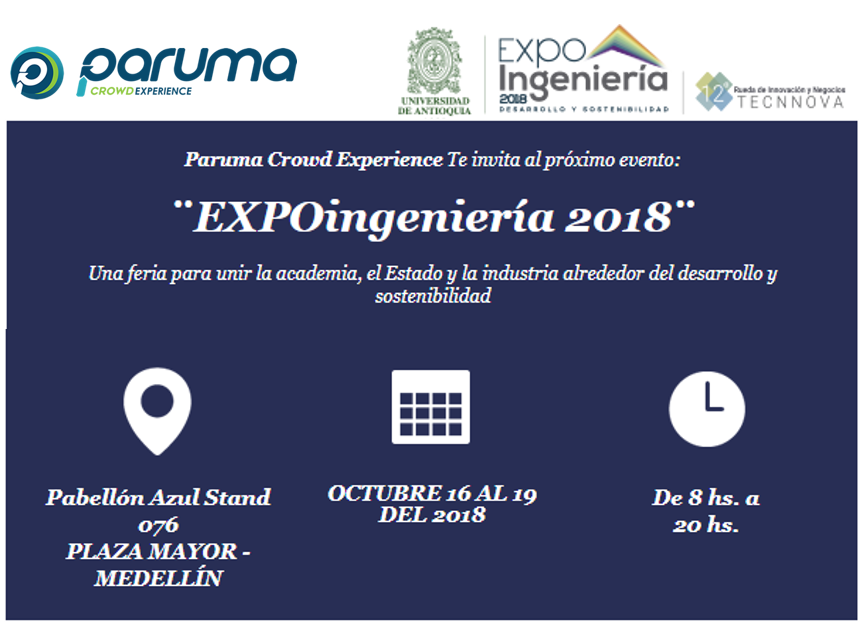 Presentes en EXPO Ingeniería 2018